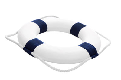 Life preserver ring - travel insurance with Roberts McClure